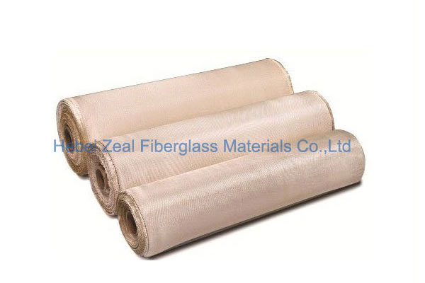 High Silica Fabric - Zeal Fiberglass Materials